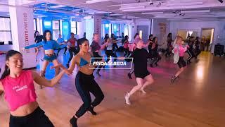 Class at Broadway Dance Center