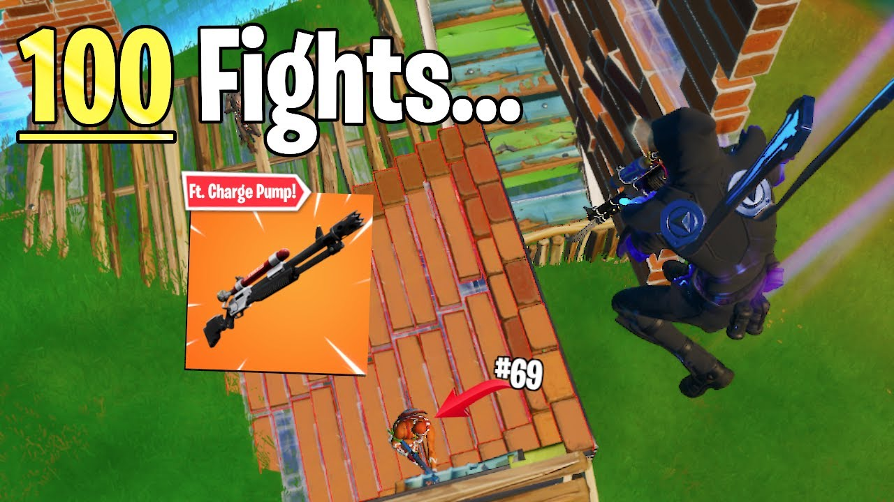 Here's What I Learned From 100 Fights With A Charge Shotgun - Fortnite Battle Royale