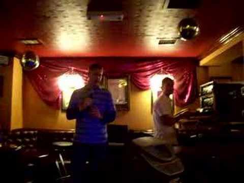 Karaoke in London Suspicious Minds Elvis Spencer