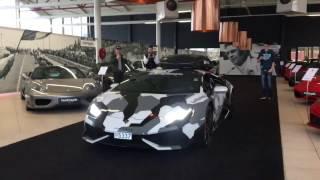 De 5.2 V10 van de Lamborghini is door tuner Stertman Motorsport voo...