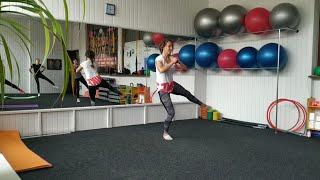 Силовая тренировка с собственным весом тела для девушек