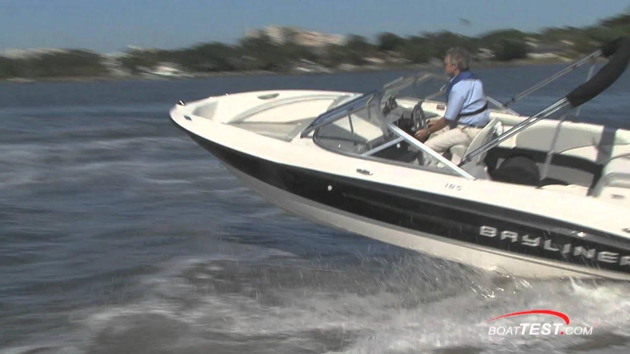 2011 Bayliner 185 BR Boat