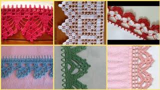 marvlous Tarkashi & Qureshiya work Designs For Tablecloths/bedsheets/Crochet lace table cloths Edges