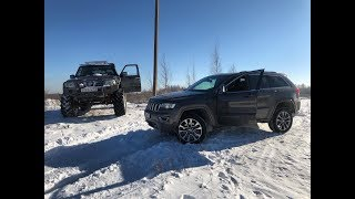 Jeep Grand Cherokee Overland vs #Бегемот! Какой джип Настоящий! Опыт эксплуатации авто!