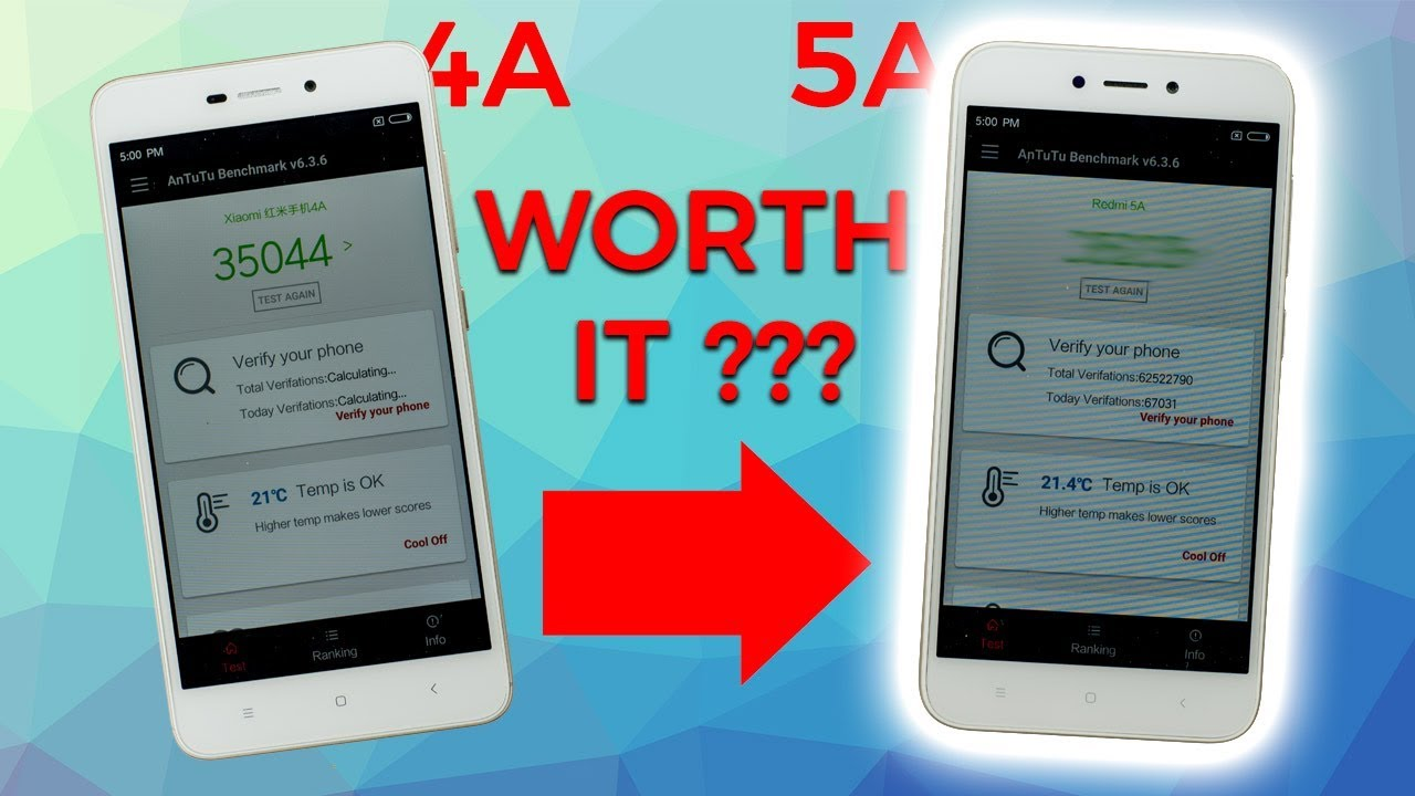 Xiaomi Redmi 5A vs. Xiaomi Redmi 4A - Is it WORTH to upgrade ...