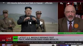 US. Missile Defense test fails in Hawaii