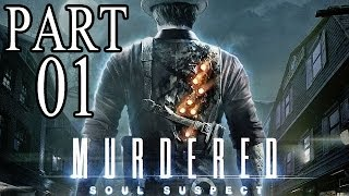 Let's Play Murdered Soul Suspect Gameplay German Deutsch PS4 Part 1 - Wer hat mich getötet ?