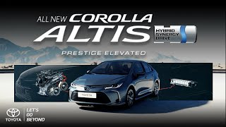 All New Corolla Altis with Hybrid Technology