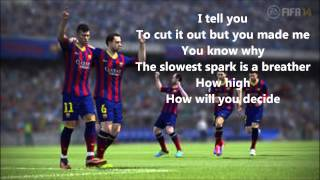 FIFA 14 | Chvrches - We Sink Lyrics [HD]