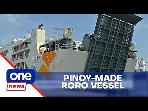 M/V Isla Simara is first Pinoy-made RORO vessel