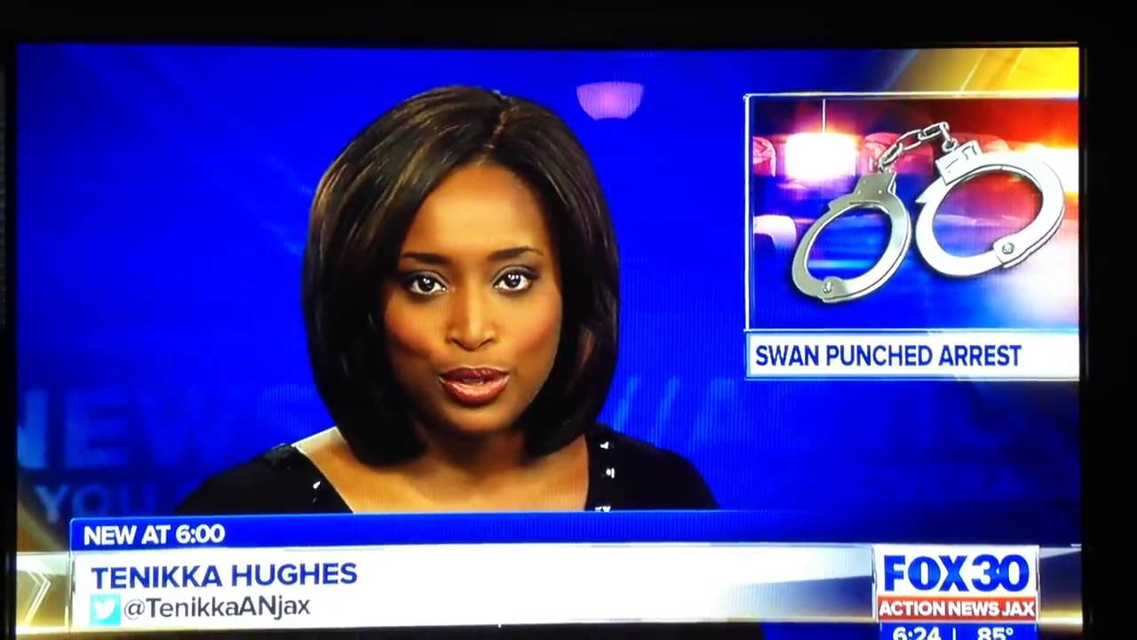 Jacksonville TV anchor says he's sorry for on-air gaffe