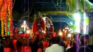 KarumKulam Sree Bhadrakali Devi Arumanoor Dhikkubali Festival 2013.