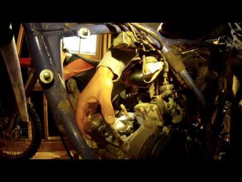 YZ80 Top End rebuild