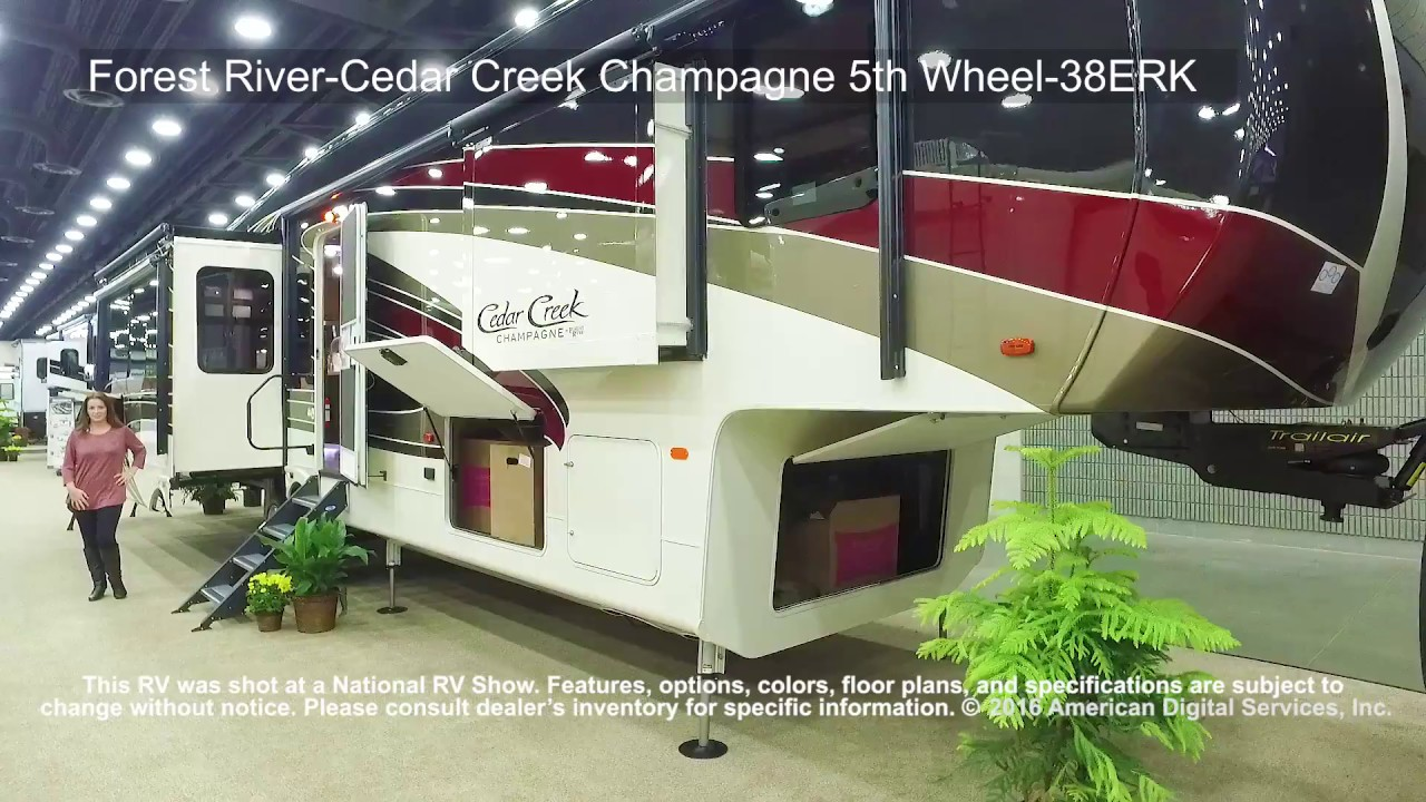 Forest River Cedar Creek Champagne 5th Wheel 38erk Youtube
