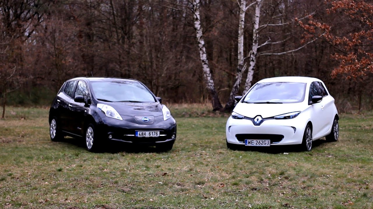 2012 renault zoe vs 2012 nissan leaf 1 versus test por wnawczy youtube. Black Bedroom Furniture Sets. Home Design Ideas