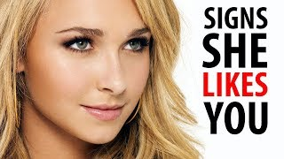 5 SIGNS SHE LIKES YOU | How To Know if a Girl is Into You | Alex Costa