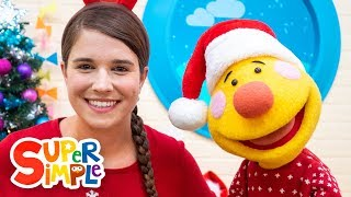 S-A-N-T-A | Sing Along With Tobee | Kids Christmas Song