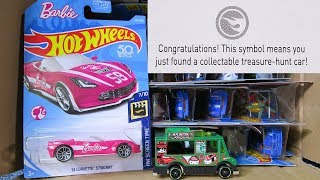 2018 M USA Hot Wheels Case Unboxing Video with New 2018 Hot Wheels Toy Cars and Barbie Car!