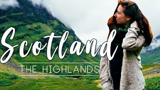 American in the Magnificent Scottish Highlands || Scotland Travel Video