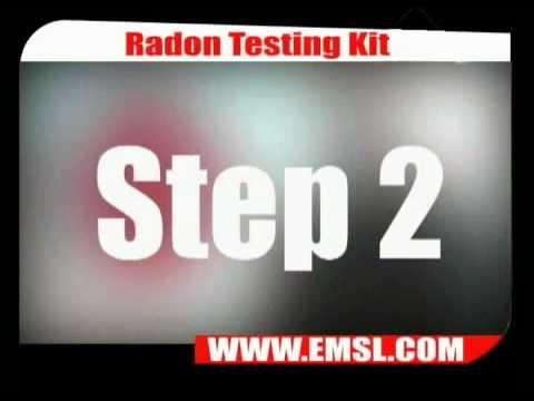 EMSL TV - Radon Testing Kit