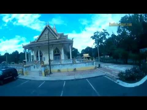 Wat Khmer Cambodian Temple in Jacksonville Florida - 4057 Hunt St - ZMR250 Quad