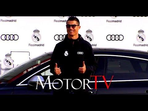 CRISTIANO RONALDO & REAL MADRID PLAYERS 2018 AUDI MODELS HANDOVER EVENT