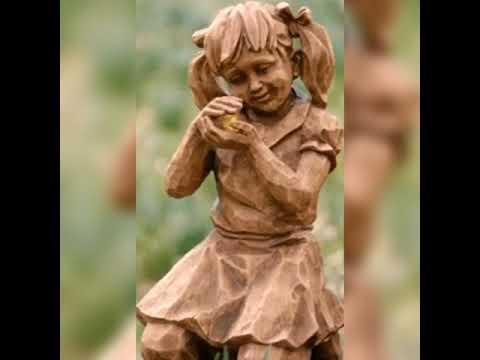 Красивые скульптуры из дерева//Такое редко где увидишь