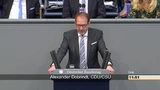 Alexander Dobrindt: Empörung ja, aber Regeln unseres Rechtsstaates sind einzuhalten
