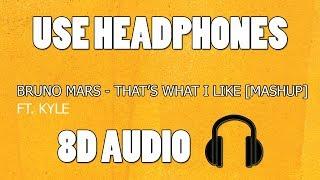 Baixar Bruno Mars - That's what I like ft. KYLE [MASHUP] (8D AUDIO)