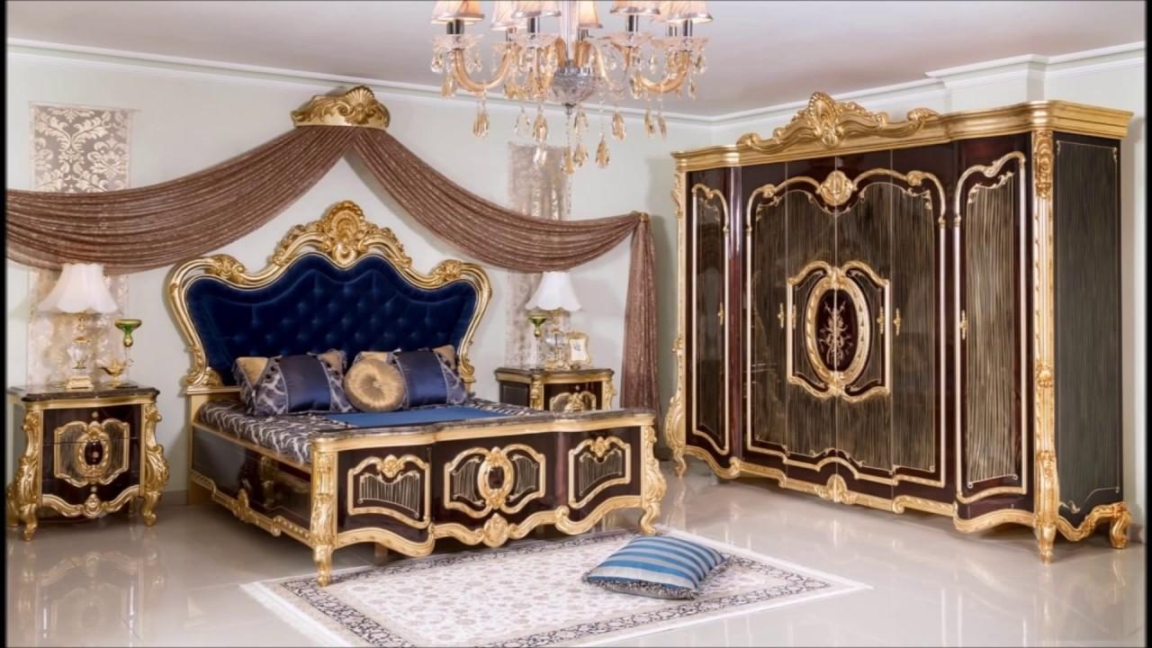 Lüks klasik Yatak odası modelleri - YouTube