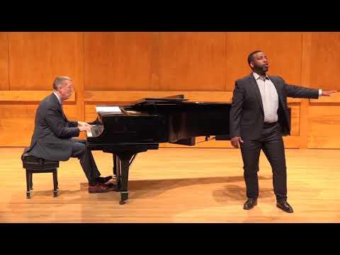 Harlem Renaissance: song cycle on Langston Hughes poems Sidney Outlaw, baritone