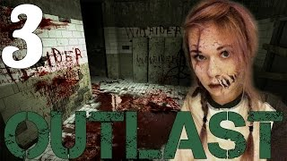 SCARY GIRL PLAYS SCARY GAME - Outlast Ep 3