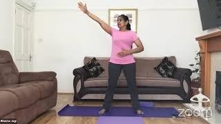 05-08-2020 - Hatha Yoga By Bhavnaben Jogi