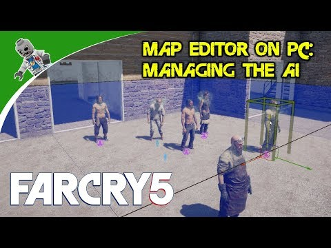 AI Control Zones, Animation Points, Navigation Meshes: How to Use the Far Cry 5 Map Editor on PC