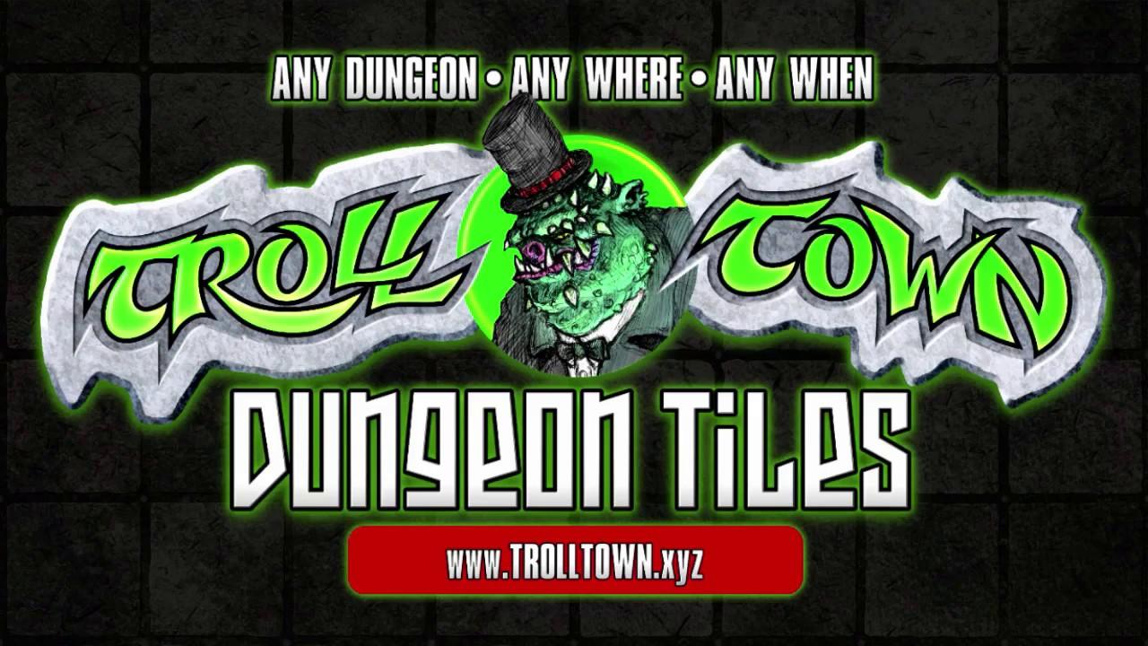 Dungeon Tiles for RPGs - Modular Printable - FREE Map & Game Tiles