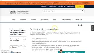 #Taxation of #Cryptocurrencies in #Australia|Tax Dosti|#Pakistan Should #legalize #Cryptocurrencies