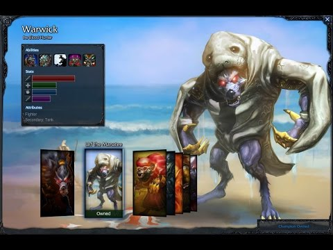 URF The Manatee Warwick Gameplay 2016