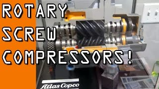 Rotary Screw Air Compressor:  What are they?!  Worth the hype?