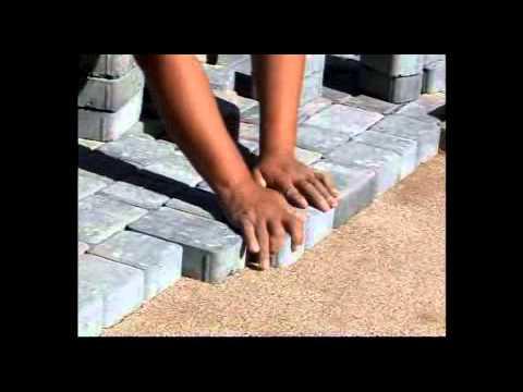 Colocacion adoquines de hormigon youtube - Como colocar adoquines de hormigon ...