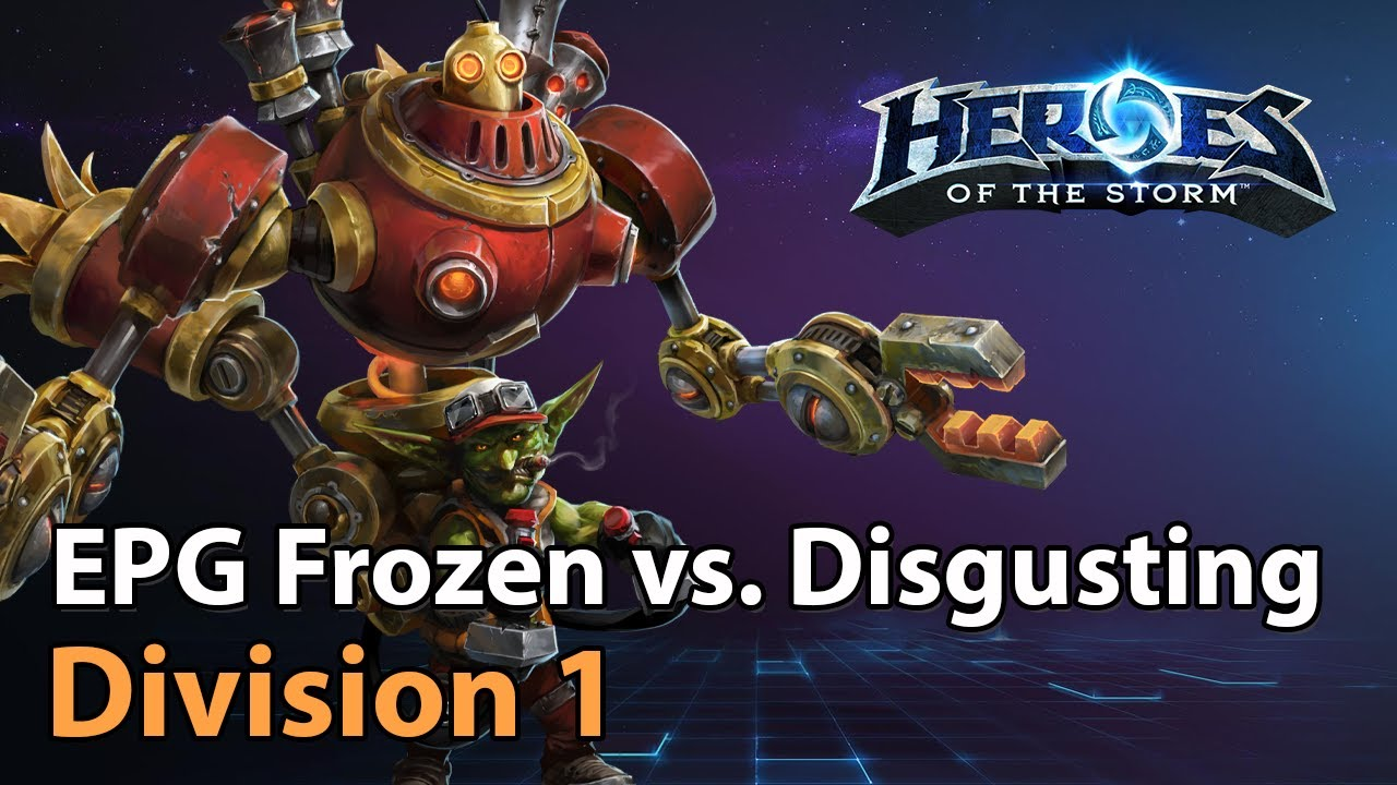 ► EGP Frozen vs. Disgusting - Division 1 - Heroes of the Storm Esports