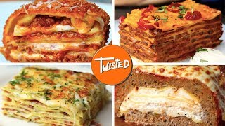 10 Epic Lasagna Recipes | How To Make Lasagna 10 Ways | Twisted