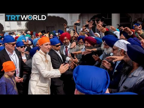 Indian media accuses Justin Trudeau of supporting Sikh separatists