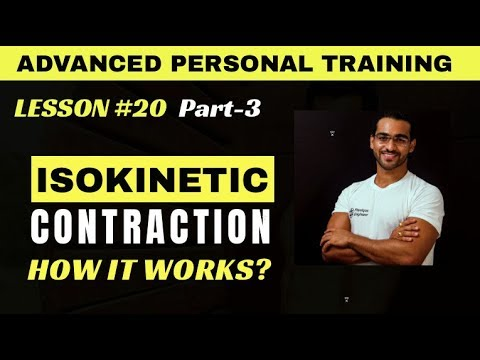 isokinetic contraction || what equipment do physiotherapists use