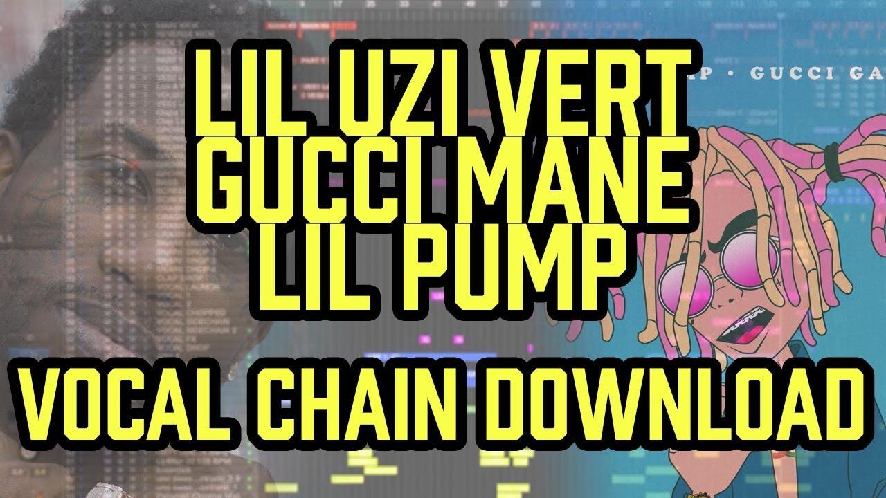Vocal Chain - Gucci Mane Lil Uzi Vert Lil Pump - Logic Pro X