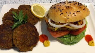 Burger végétarien - Recette fa…