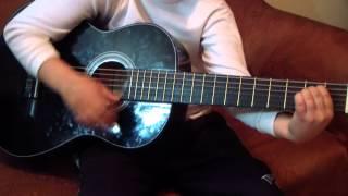 АЛЫЕ ПАРУСА под гитару ( Классно получилось) Респект пацану...