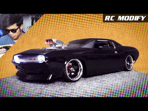 RC Modify 26 | DDW 1/10 M-Drift 1 RWD 1970 Dodge Challenger V8