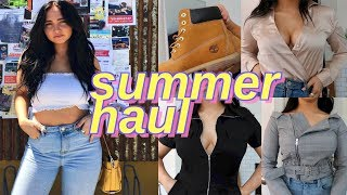 summer try on haul | urban outfitters and fashion nova