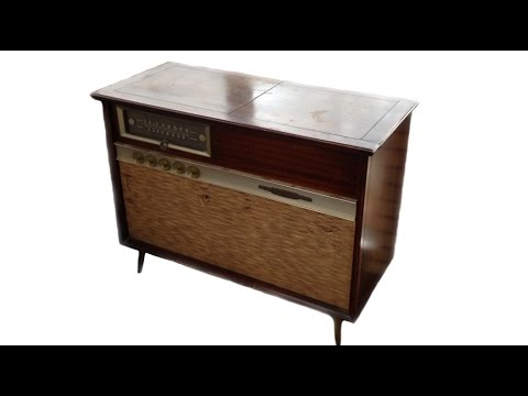 1958 RCA Victor Stereo Orthophonic Dual Amplifier Console (PART 1)
