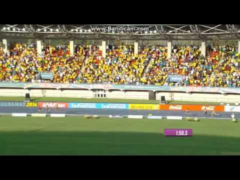 4x400 Women Final World Relay Bahamas 2014
